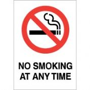 No Smoking safety sign - No Smoking at Any 008